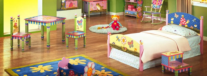 Teamson Design Hand Painted Childrens Furniture Themed